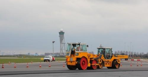 Schiphol landingsbaan